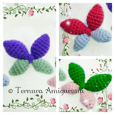 Butterfly crochet pattern FREE pdf ternura amigurumi english- deutsch- dutch
