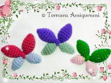 Vlinder haakpatroon GRATIS pdf ternura amigurumi english- deutsch- dutch