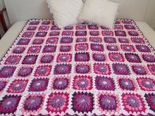 Majesty Blanket Crochet Pattern