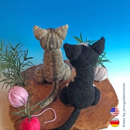 Katze häkeln im Amigurumi-Stil - gratis Anleitung für Anfänger ...   450x450