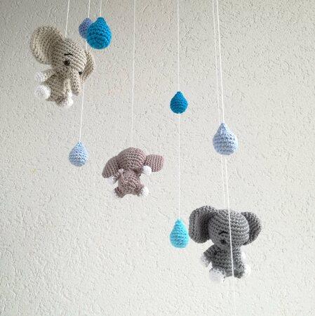Süßen Elefant häkeln: kostenlose DIY-Anleitung - Talu.de | 450x449