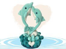 Dolphin Love Pattern Amigurumi PDF Deutsch - English - Dutch