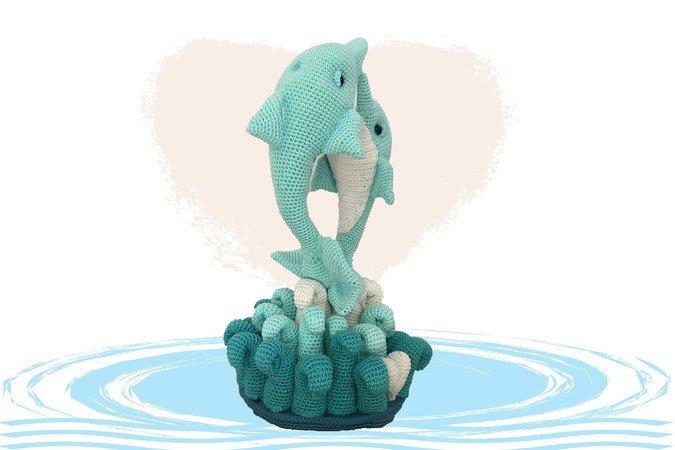 9 Amigurumi Seahorse Free Crochet Pattern and Paid | 450x675