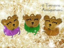 Crochet pattern small backpack bear pdf ternura amigurumi english- deutsch- dutch