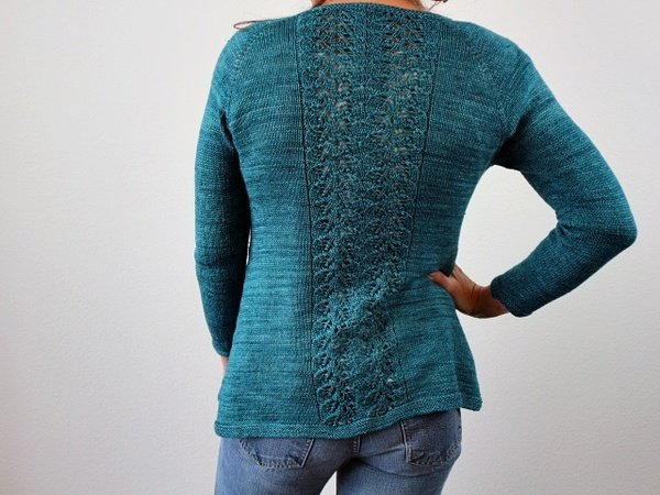 "Strickanleitung Raglanjacke ""Sweet Kisses"""