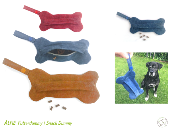 Alfie Food Dummy in 3 sizes Sewing Pattern