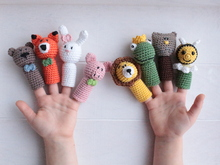 Pattern Finger puppets