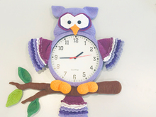 "Yazzie´s Wanduhren: EDITION ""Owl-Watch"""
