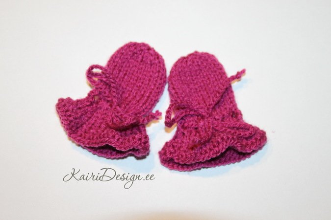 Baby doll mittens