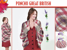PONCHO GREAT BRITISH