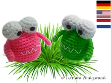 Haakpatroon van zoet monster! PDF ternura amigurumi english- deutsch- dutch