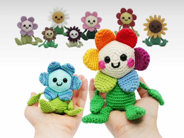 Happy Little Flower - Crochet Pattern