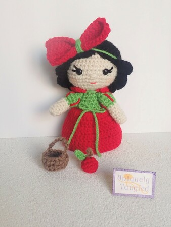 Princess Apple- Amigurumi PDF- English