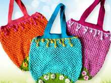 Chrochet pattern net bag