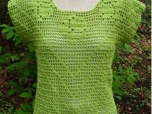 Filet Crochet T-Shirt - PW-202