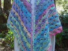 Showy Shells Shawl - PW-108