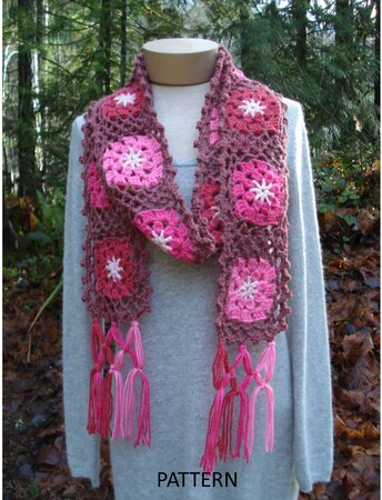 Cherry Chip Scarf - PA-312
