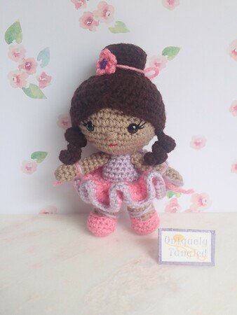 Unicorn Crochet Unicorn Ballerina Tutu Rainbow Handmade | Etsy | 450x338