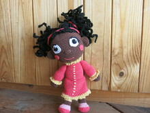 miss Elaina - crochet doll