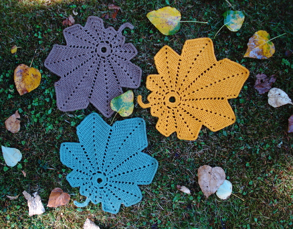 Pattern Falling Leaves Table Mats - PH-104