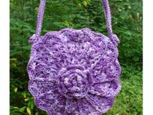 Victorian Flowers and Shells Bag - PA-212