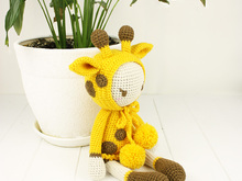 "Crochet pattern ""DOLL Giraffe"""
