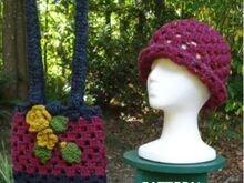 Pattern Serenity Hat and Bag - PA-108
