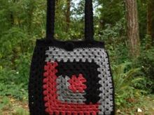 Log Cabin Tote Bag - PA-215