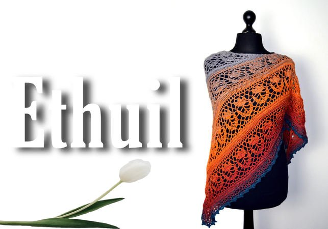 The tulip shawl Ethuil