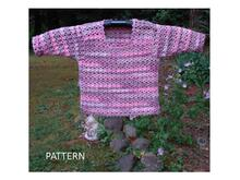 Pattern Pullover Sweater for Baby - PB-202