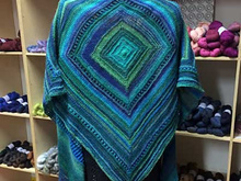 Colorways 1 - Triangular Shawl