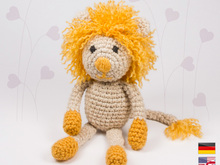 Lion 'Lothair' • LuckyTwins • Amigurumi crochet pattern