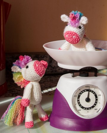Lavender Unicorn Crochet Pattern ONLY not a finished product ... | 450x360