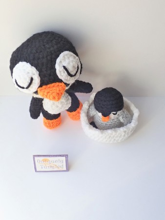 Felton in Penguin Costume- Croceht Amigurumi Pattern