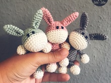 English Pattern *Baby-Donkey*