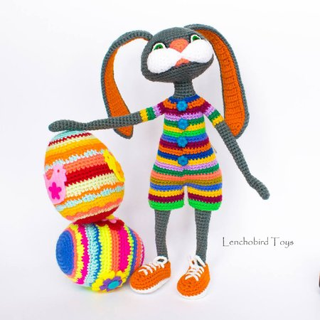 The Traveling Tu Family ~ Free Easter Crochet Pattern! ⋆ Melody's ... | 450x450
