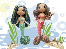 Mermaid Gimena & Michelle Pattern Amigurumi