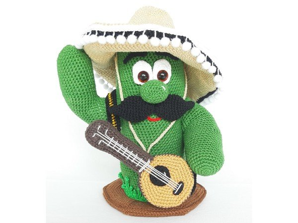Mariachi Band - crochet pattern