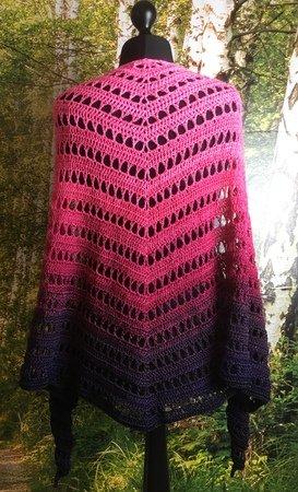 4 seasons shawl