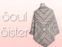 Soul Sister - Baby blanket or shrug