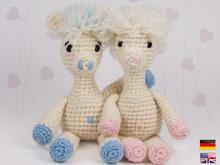 PATTERN Ami Llama - Crochet Toy Pattern - alpaca amigurumi ... | 165x220