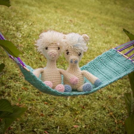 Miniatur-Amigurumi-Alpaka. Kommt mit kostenlosen Sammler   Etsy   450x450