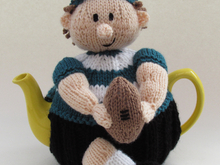 Rugby Player Tea Cosy