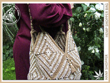 Big Hemp Shopper Bag - Crochet Pattern
