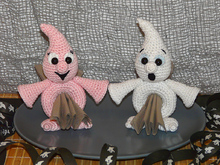 Crochet Pattern Napkin holders ghost