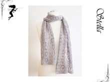 Stella Lace scarf for beginners