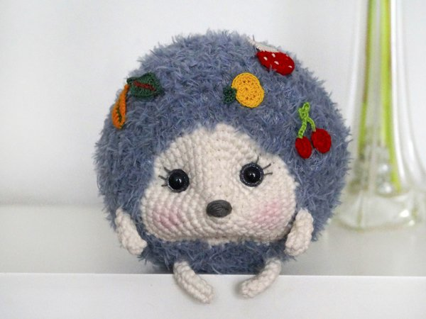 Crochet Pattern Hedgehog