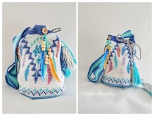 Crochet pattern mochila bag Dream Catcher