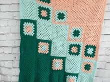 Pattern Baby Blanket Tricolor Fun