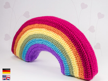 3D Rainbow • LuckyTwins • crochet pattern